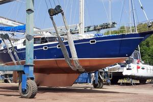 53' Bruce Roberts 53 Custom Ketch 2011 '11 Bruce Roberts 53' Ketch bottom starboard bow