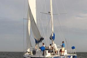 53' Bruce Roberts 53 Custom Ketch 2011 '11 Bruce Roberts 53' Ketch port quarter under sail