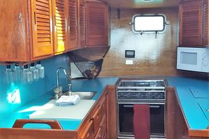 53' Bruce Roberts 53 Custom Ketch 2011 '11 Bruce Roberts 53' Ketch Galley