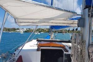 53' Bruce Roberts 53 Custom Ketch 2011 '11 Bruce Roberts 53' Ketch foredeck from cockpit