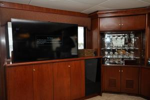 90' Custom Luxury Motor Yacht  2001 TV/Entertainment Center