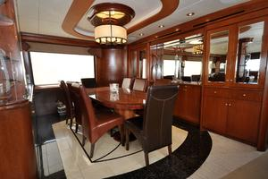 90' Custom Luxury Motor Yacht  2001 Formal Dining