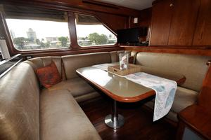 90' Custom Luxury Motor Yacht  2001 Galley