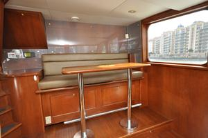 90' Custom Luxury Motor Yacht  2001 Pilothouse Seating