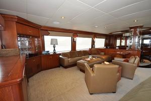 90' Custom Luxury Motor Yacht  2001 Salon