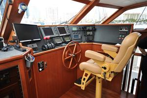 90' Custom Luxury Motor Yacht  2001 Raised Pilothouse Helm