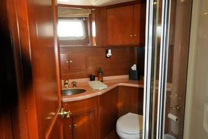 90' Custom Luxury Motor Yacht  2001 Ensuite Bathroom