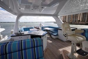 90' Custom Luxury Motor Yacht  2001 Flybridge