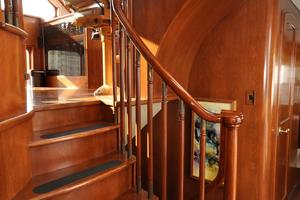 90' Custom Luxury Motor Yacht  2001 Pilot House