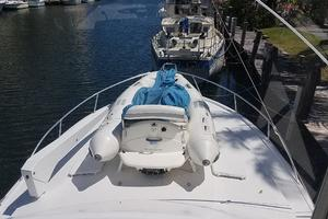 48' Ocean Yachts Super Sport 48 1990 Davit and dinghy in bow