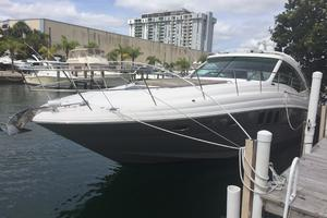 48' Sea Ray 480 Sundancer 2005 More Port Side View