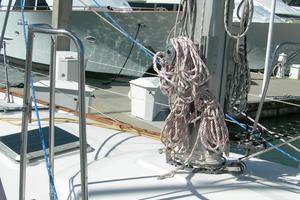 47' Tayana 47 CC 1990 Mast Pulpits on both Port & Starboard