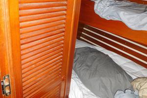 47' Tayana 47 CC 1990 Guest Bunk Cabin-Hanging Locker