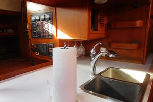 47' Tayana 47 CC 1990 Galley-Double Stainless Sink