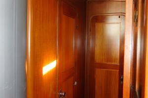 47' Tayana 47 CC 1990 VIP Cabin Forward/Guest Bunk Cabin Port Side