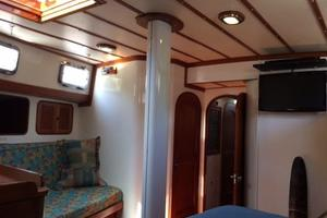 63' Mason Ketch 1982 Master cabin aft with tons of room!