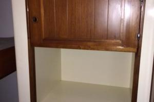 63' Mason Ketch 1982 Mid ship cabin with room for washer and dryer if you wish!
