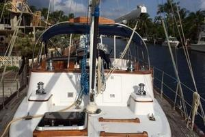 63' Mason Ketch 1982 Stern view