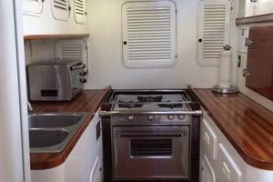 63' Mason Ketch 1982 Beautiful Galley