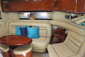 46' Sea Ray 460 Sundancer 2003 Salon To Starboard W/Convertible Sofa & Recliner