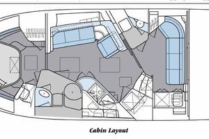 46' Sea Ray 460 Sundancer 2003 Salon & Cabin Overviews