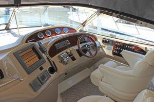 46' Sea Ray 460 Sundancer 2003 Navigation Station Starboard Cockpit