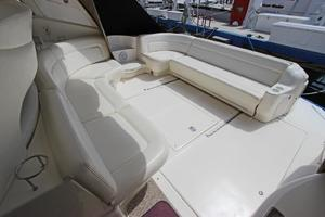 46' Sea Ray 460 Sundancer 2003 Aft Cockpit U-Lounge Seating