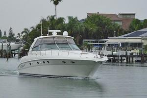 46' Sea Ray 460 Sundancer 2003 Cruising Down The Canal