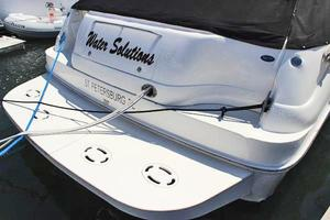 46' Sea Ray 460 Sundancer 2003 Oversized Swim Platform W/Fold-Down Stainless Ladder