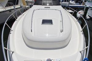 46' Sea Ray 460 Sundancer 2003 Bow View From Pulpit W/Large Stainless Railing