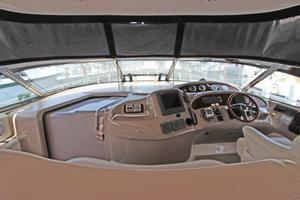 46' Sea Ray 460 Sundancer 2003 Forward Cockpit