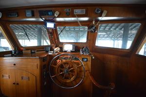 50' Marine Trader 50' Trawler 1981 1981 Marine Trader 50' Trawler, pilothouse view