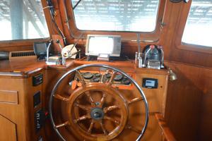 50' Marine Trader 50' Trawler 1981 1981 Marine Trader 50' Trawler, lower helm station