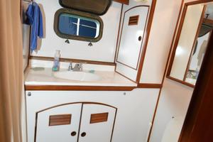 50' Marine Trader 50' Trawler 1981 1981 Marine Trader 50' Trawler, master stateroom head and shower
