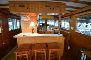 50' Marine Trader 50' Trawler 1981 1981 Marine Trader 50' Trawler, salon looking forward