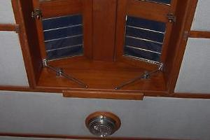 50' Marine Trader 50' Trawler 1981 1981 Marine Trader 50' Trawler, overhead deck hatch in V-Berth