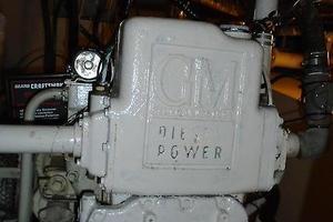 45' Bruce Roberts Waverunner 2003 Engine.JPG
