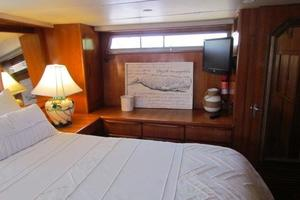 46' Jefferson Motor Yacht 1994 Master Stateroom Port View