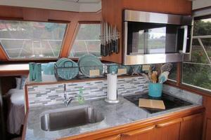 46' Jefferson Motor Yacht 1994 Galley View
