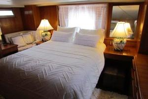 46' Jefferson Motor Yacht 1994 Master Stateroom Aft View