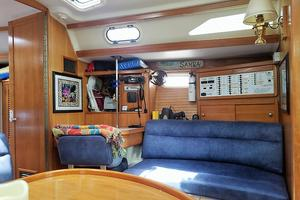 42' Catalina MkII 2001 2001 Catalina 42 Settee and Navigation Station with Chair 063017.jpg