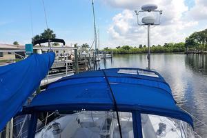 42' Catalina MkII 2001 2001 Catalina 42 Samba Bimini with Solar and Mast with Radar and Tracvision 063017.jpg
