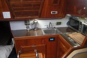 36' Soverel 36-2 Cb Sloop Updated 1982 Well Furnished Kitchen