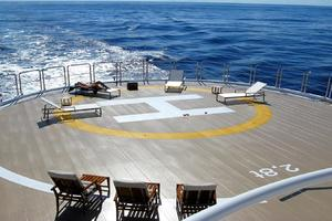 134' Abeking & Rasmussen SWATH 2008 Helicopter Deck