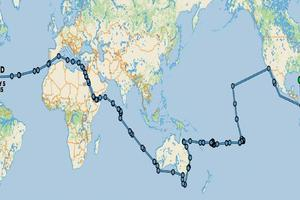 134' Abeking & Rasmussen SWATH 2008 Two Year Circumnavigation