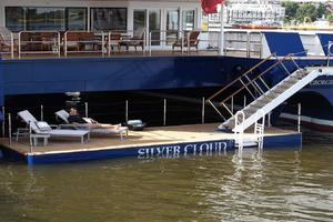 134' Abeking & Rasmussen SWATH 2008 Swim Platform/Beach Club