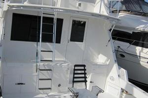 65' Hatteras Enclosed Bridge Convertible Sf 1997