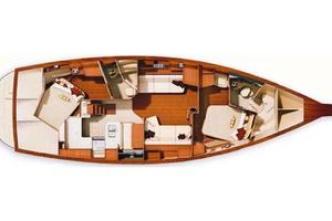 44' Island Packet 440 2007 InteriorLayout