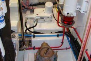 58' Hampton 580 Pilothouse 2008 Engine room III