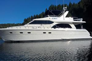 58' Hampton 580 Pilothouse 2008 Port Profile